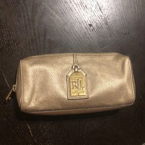 Ralph Lauren makeup bag